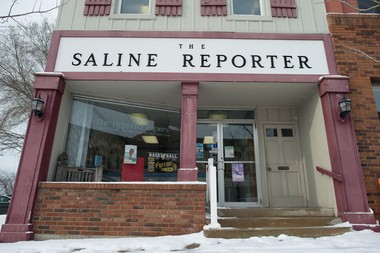 The Saline Reporter, with offices at 106 W. Michigan Ave. in Saline, was one of the six papers that combined to form Washtenaw Now.