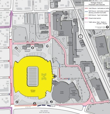 Parking And Traffic Tips For Michigan Football Game Day Mlive Com