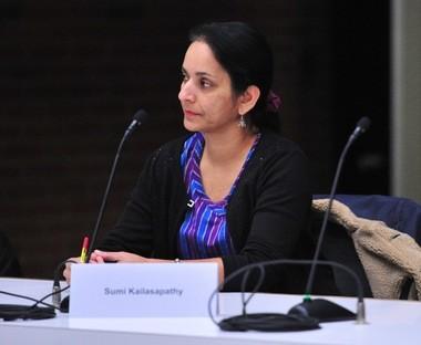 City Council Member Sumi Kailasapathy, D-1st Ward.