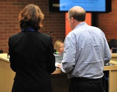 DDA Executive Director Susan Pollay and Deputy Director Joe Morehouse present the DDA's 2016-17 budget to the City Council on March 14, 2016.