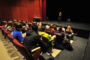 The Young Democrats at Huron High School in Ann Arbor hosted U.S. Rep. Debbie Dingell, D-Dearborn, on Friday, March, 18, 2016.