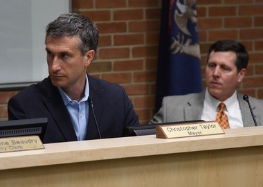 """""""This was a project that I thought was mistaken from the beginning, and I think it is mistaken still,"""" argued Mayor Christopher Taylor."""