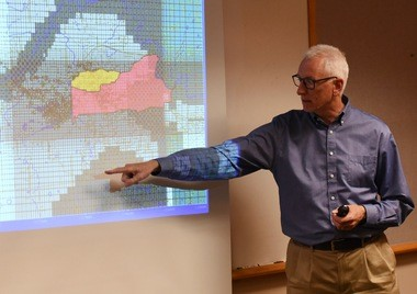 """The role of groundwater modeling -- it's not definitive. But it can be very suggestive. It can be very useful in guiding us in how we think about what's going on and where we look for the 1,4-dioxane and where it may be,"" Lemke said."