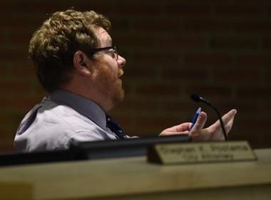 Ann Arbor City Council Member Chip Smith, D-5th Ward.