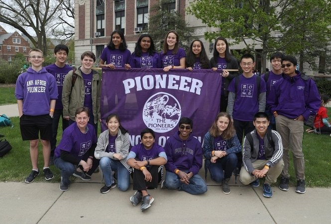 Pioneer High School's Science Olympiad team took fifth place in the state tournament on April 29, 2017. (Photo provided by Marc Klinger)