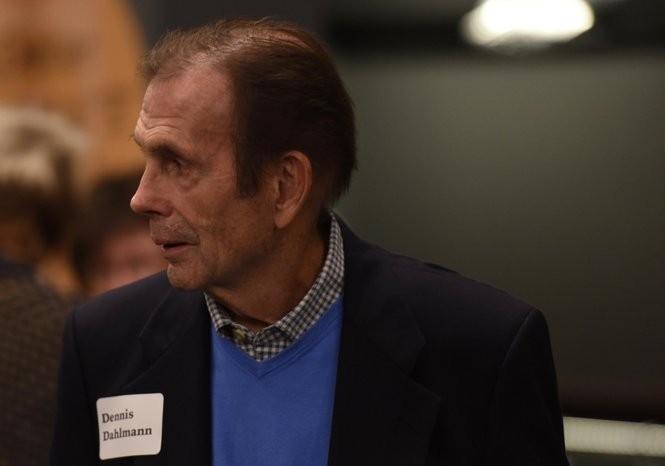 Dennis Dahlmann at an event in downtown Ann Arbor in September 2016.