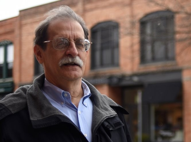 City Council Member Jack Eaton poses for a portrait in downtown Ann Arbor on March 15, 2018. (Ryan Stanton   The Ann Arbor News)