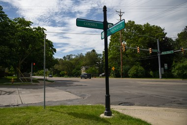 The intersection of North Huron River Dr. and Cornell Rd, Ypsilanti, one of the last places Tammy Niver was alive. (Tanya Moutzalias | MLive.com)
