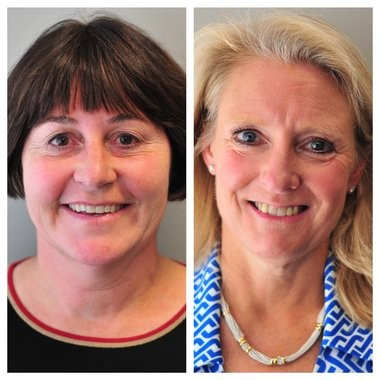 2nd Ward candidates for Ann Arbor City Council in the Nov. 3, 2015, election: Independent incumbent Jane Lumm, left, and Democrat Sally Hart Petersen, right.
