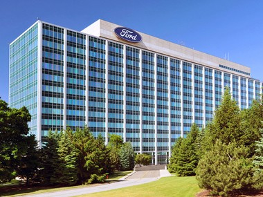 Ford Motor Co. world headquarters, 1 American Road, Dearborn, Mich.