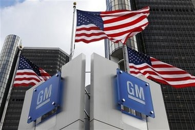 General Motors headquarters are shown in Detroit, Thursday, Nov. 18, 2010.