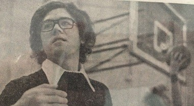 Jim Deming played a vital role for All Saints basketball as junior varsity coach and varsity assistant during the 1970s. (Bay City Times file)