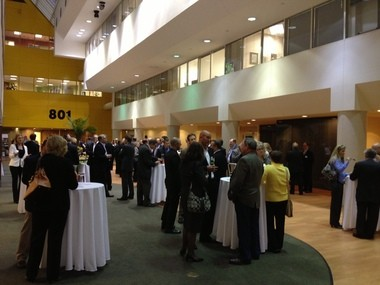 Huntington Bank celebrates its first wave of Best in Business honorees at its office in Troy.