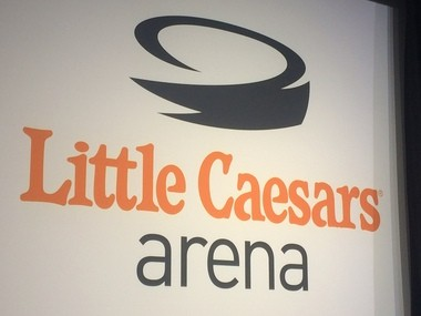 The new, 20,000-seat Detroit Red Wings venue has been named Little Caesars Arena.