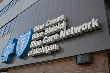 Blue Cross Blue Shield of Michigan received 350 customer phone calls in just one hour during President Barack Obama's televised announcement on changes to the Affordable Care Act.