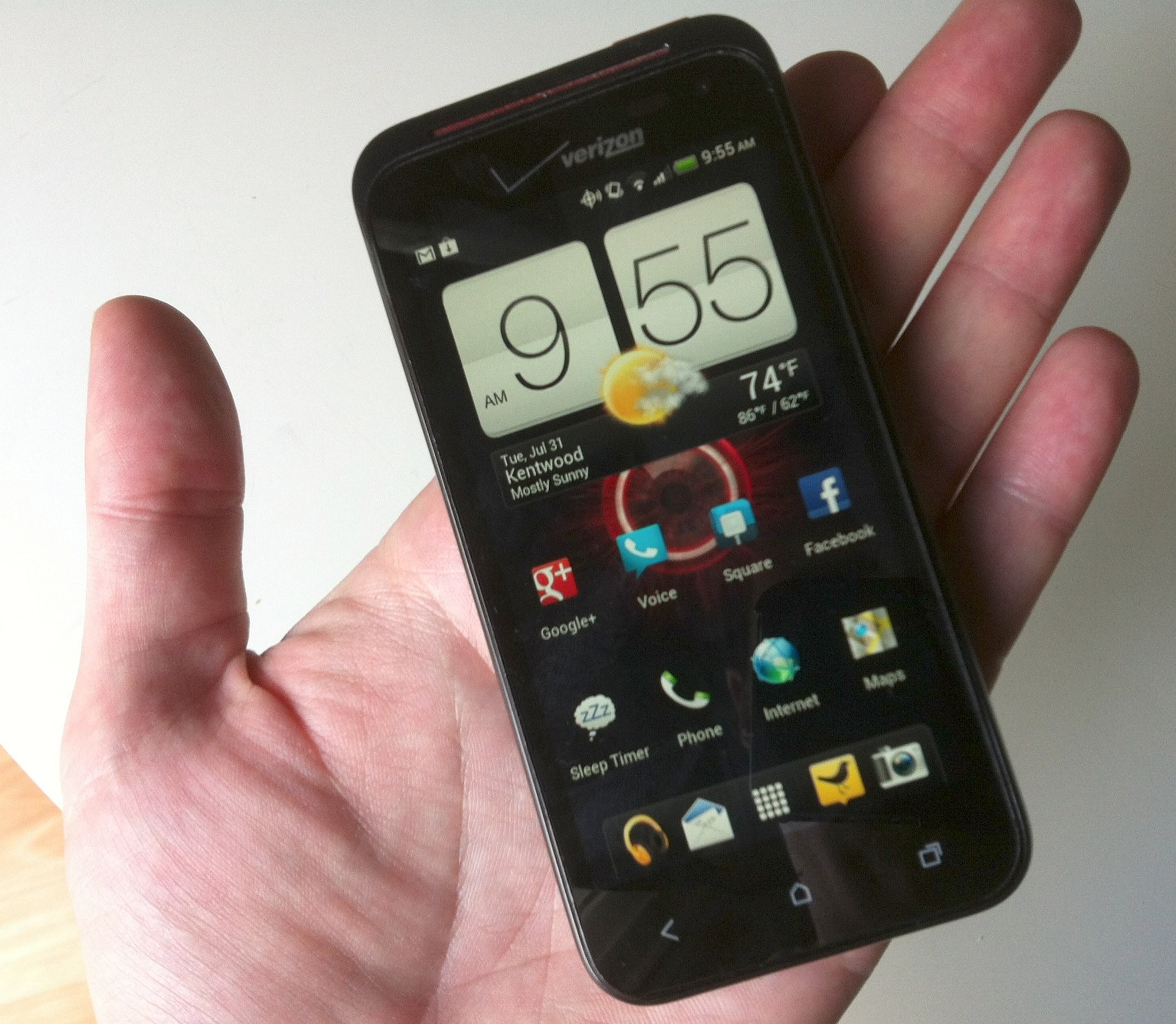 review htc droid incredible lte wired