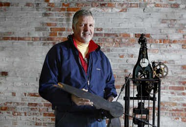 Alan Teelander, of Lowell, saved the original clock from the Kingsley Building in Eastown. Teelander preserved it in his garage after Zondervan vacated the building in the mid-1970s. He donated it to Bazzani Associates so it can be incorporated into the building as it is renovated.