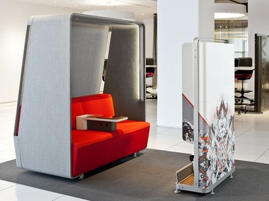 Steelcase will be exhibiting their new video conferencing concept at the 2013 CES in Las Vegas this week.