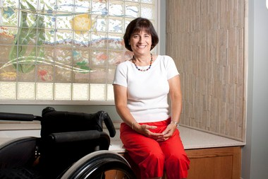 Rosemarie Rossetti says accessible features add value to new houses