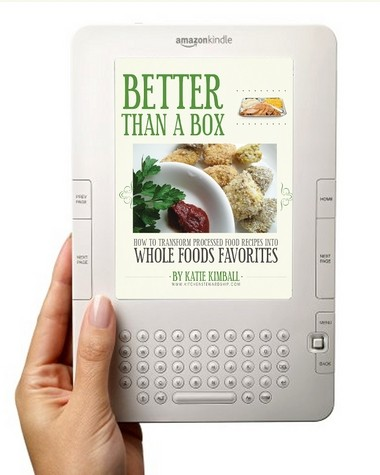 "Byron Center resident Katie Kimball's ""Better Than a Box: How to Transform Processed Food Recipes into Whole Foods Favorites"" is on Amazon Kindle's top 100 list."