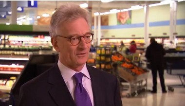Meijer co-chairman Hank Meijer talks about the retailer's efforts to support Midwest food pantries.