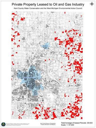 WMEAC and Kent County Water Conservation have mapped oil and gas leases in Kent County.