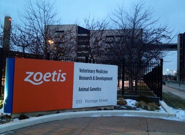 Kalamazoo County is world headquarters for Zoetis Inc's research and development.
