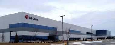 LG Chem temporarily halted its production of lithium-ion batteries, a spokesman said Friday afternoon.
