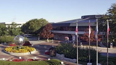 Amway headquarters in Ada, Michigan.