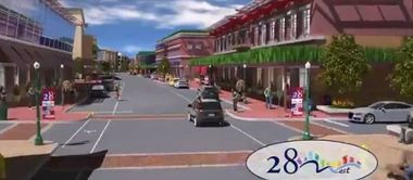 Wyoming has drafted a new zoning code that city leaders hope will lead to development of a downtown area off 28th Street SW that looks like this.