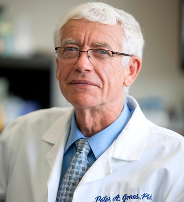 Peter Jones, chief scientific officer at Van Andel Research Institute, is taking part in Stand Up to Cancer, the live telecast airing at 8 p.m. Friday, Sept. 5.