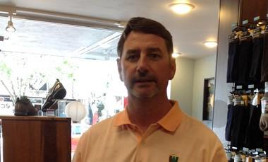 Bill Golden, owner of Golden Shoe in Traverse City.