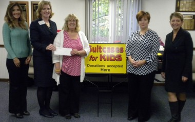 The Southwestern Michigan Association of Realtors recently celebrated the end of its ninth annual fundraising program for Suitcases for Kids.