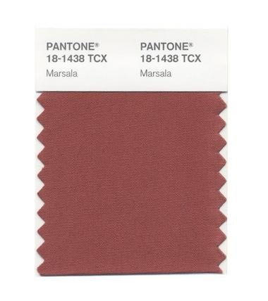 Marsala is Pantone's 2015 Color of the Year.