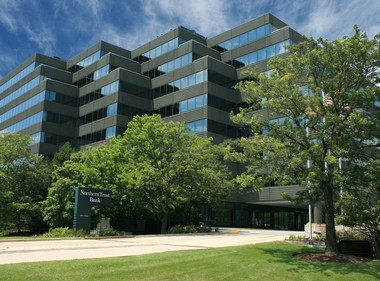 OST's new Chicago office is housed in the Northern Trust Bank Building in Oak Brook Terrace.