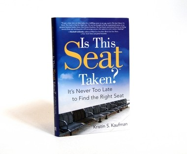 The story of West Michigan entrepreneur Wally Blue's late in life success is featured in Kristin Kaufman's new book, Is This Seat Taken? It's Never Too Late to Find the Right Seat.