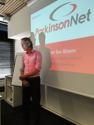 Professor Bastiaan Bloem is the founder of ParkinsonNet, a program credited with improving care of patients with Parkinson's disease in the Netherlands.
