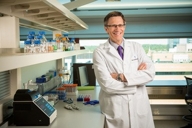 Dr. Patrik Brundin, director of Van Andel Research Institute's Center for Neurodegenerative Science