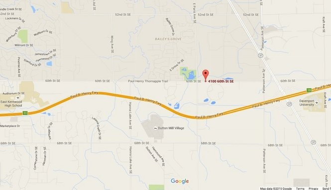 Switch's new Michigan data center will be located at 4100 60th St. SE in Gaines Township.