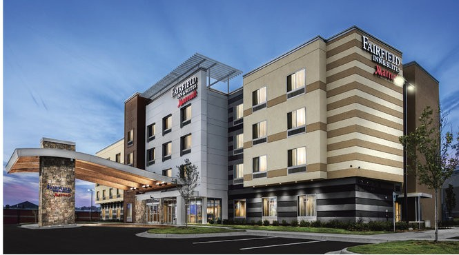 The 110-room Fairfield Inn and Suites will be built near Metro Health Village