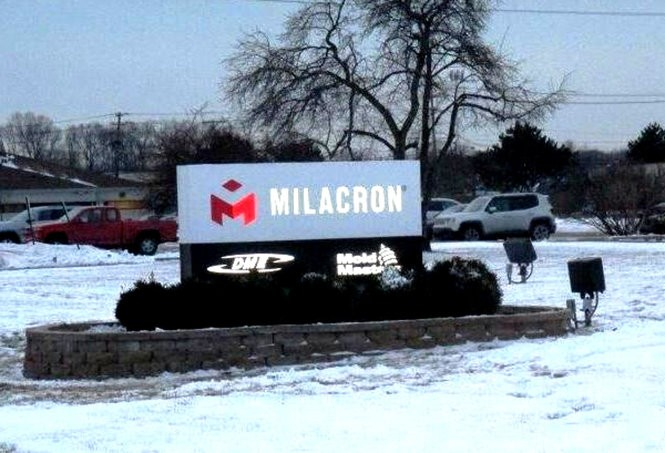 DME's Milacron plant in Greenville will see up to 70 new jobs when a sister plant in Pennsyvlania is closed this summer.
