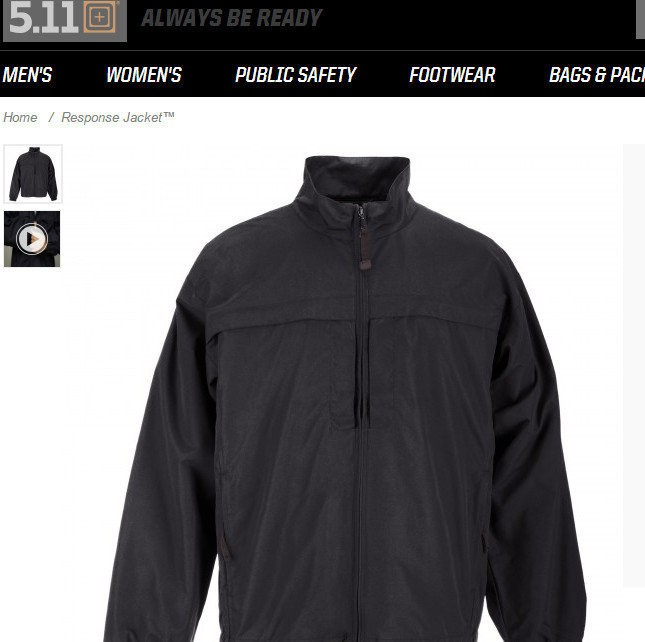 This is a concealed weapons jacket Jason Dalton bought a few hours before he went on a shooting spree in Kalamazoo.
