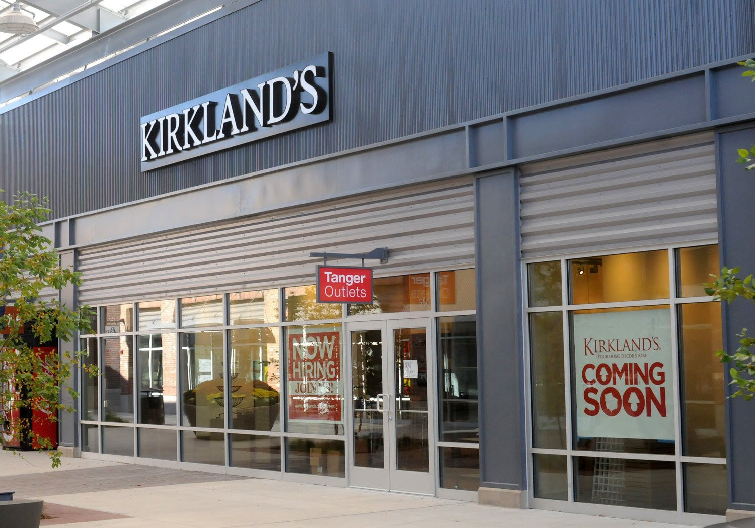 Kirkland S Home Decor Store To Open In Tanger Outlets