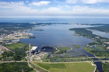 Many think that Muskegon's image and story is told through its water resources such as Muskegon Lake.