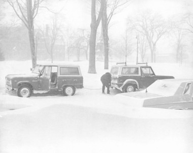 Lookback: Blizzard of 1978 buried West Michigan under three feet of on 70 foot houseboat, 70 foot truck, 70 foot trailer, 70 foot house,
