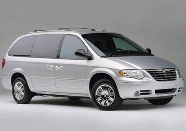 Here is a stock photo of the type of Chrysler van that Norton Shores Police are looking for.