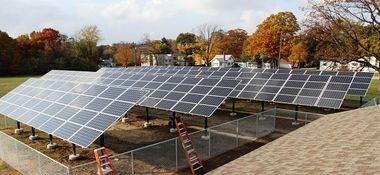 A large solar project was installed with state and federal grants at the Every Women's Place on West Laketon Avenue in Muskegon.