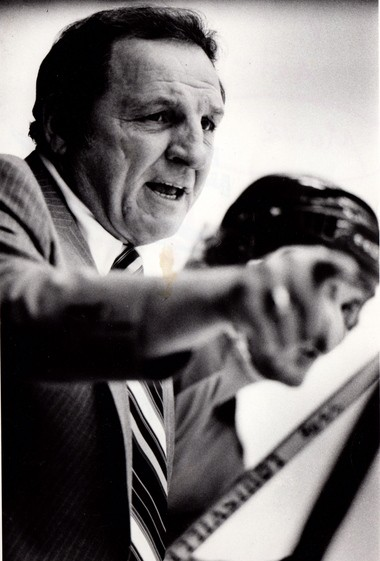 Forced out as head coach by Muskegon ownership after the 1977-78 season, Moose Lallo was at the helm for the Ft. Wayne Komets in 1978-79 season. Muskegon finished last in the Northern Division that year, while Lallo's Komets made it to the Turner Cup semifinals.