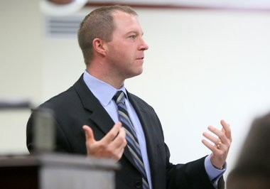 Muskegon County Prosecutor D.J. Hilson