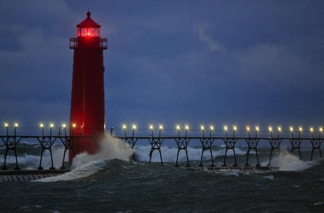 Grand Haven's path toward a restored Lake Michigan pier
